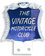 Picture of VMCC Machine Or Car Badge - Large (VMCC Limited)