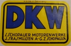 Picture of DKW Rear Mudguard