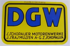 Picture of DGW Rear Mudguard