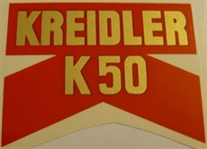 Picture of Kreidler Rear Mudguard