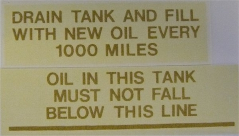 Picture of Ariel Oil Tank