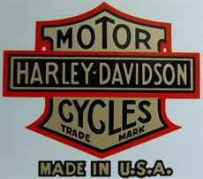 Picture of Harley Davidson Head Stock