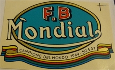 Picture of FB Mondial Tank