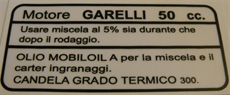 Picture of Garelli Sidepanel