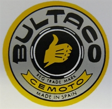 Picture of Bultaco Side Panel