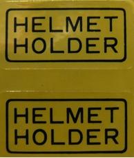 Picture of Honda Helmet Holder