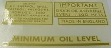 Picture of Triumph Oil Tank