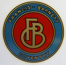 Picture of Francis Barnett Tank