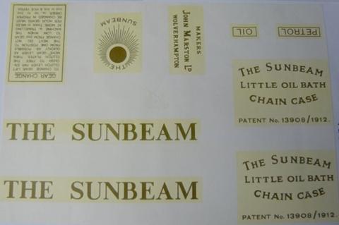 Picture of Sunbeam Flat Tank Set