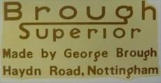 Picture of Brough Superior