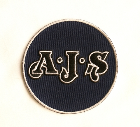 Ajs motorcycle club patches