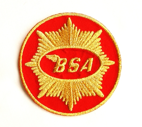 Picture of BSA Sew on Patch (red/gold)