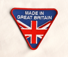 Picture of Made In Great Britain Sew On Patch (Wassell)