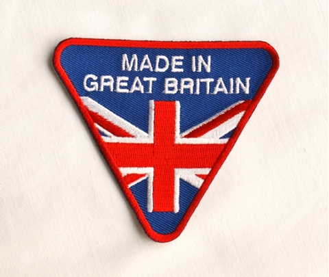 Picture of Made in Great Britian Sew on Patch