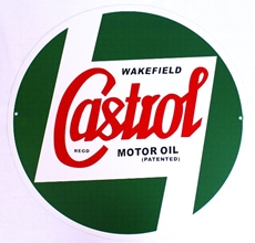 Picture of Classic Metal Signage: Castrol 400mm Dia