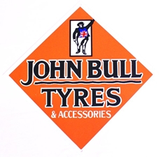 Picture of Classic Metal Signage: John Bull