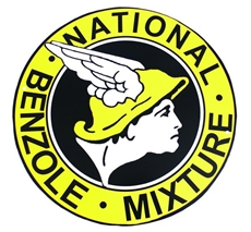 Picture of Classic Metal Signage: National Benzole
