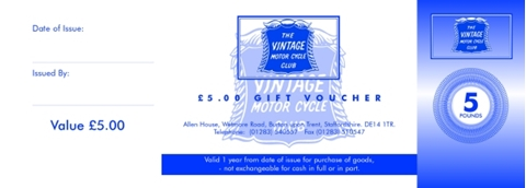 Picture of Gift Voucher £5.00