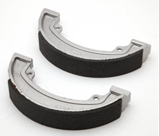 Picture of Brake Shoes Conical Hub Rear (BSA/TRI)