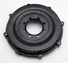 Picture of Rear Sprockets - T100/T120/T150 Rear brake drum, accepts bolt on ring sprocket.Also fits BSA Rocket 3 models