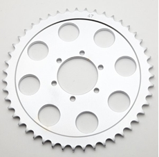 Picture of Rear Sprockets – Triumph T140 Special (1979) with lester mag wheelsNumber of Teeth: 47TChain Pitch: 5/8'' x 3/8''