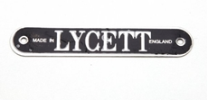 Picture of Lycett 'Made in England' Badge for seats and saddles.