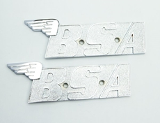 Picture of Tank Badges BSA Of A65  60-2568 Pair