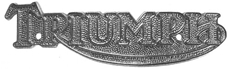 Picture of Triumph Metal Tank Badge - single