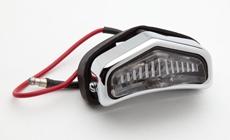 Picture of Replica Lucas pilot lamp assembly for Triumph pre-unit models T100,T110 etc, 517 type.