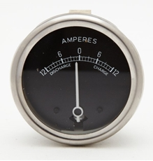 """Picture of Ammeter Black Face 2"""""""