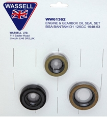 Picture of BSA Oil Seal Set (Wassell)