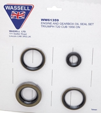Picture of Oil Seal Kit for Triumph T20 Cub (1956-1968)
