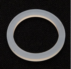 Picture of Push Rod Seal – Triumph. White Nitrile push rod 'O' ring.Thin type.