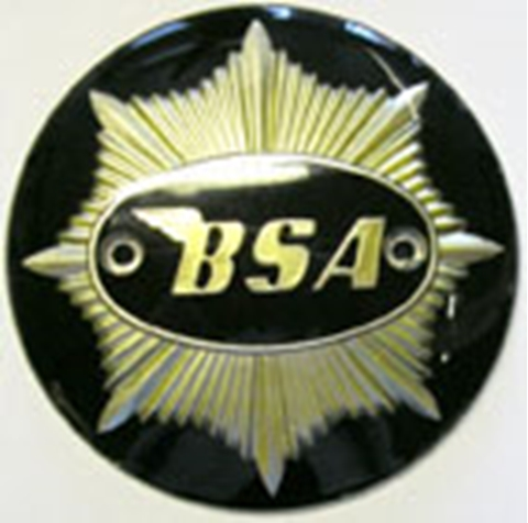 Picture of T/Badge G/Star Black (pair)