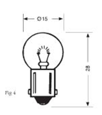 Picture of Bulb - 12v 5w