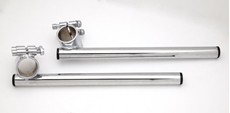 """Picture of Clip On Handlebar 33mm - Can be fitted on almost any motorcycle with 33mm fork tubes and 7/8"""" controls."""