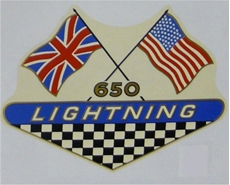 Picture of BSA  650 Lightning Sidepanel