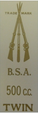 Picture of BSA R.No.Pl.Brk