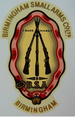 Picture of BSA Tank Head Stock