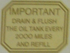 Picture of BSA Oil Tank