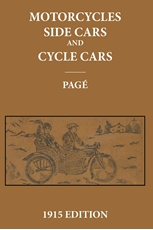 Picture of Motorcycles. Sidecars and Cyclecars 1915