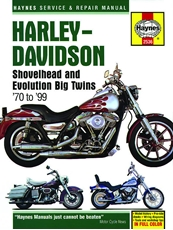 Picture of Harley-Davidson Shovelhead & Evolution Big Twins 1970-1999 (Haynes Publishing)