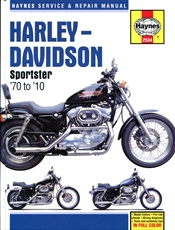Picture of Harley-Davidson Sportsters 1970 - 2010 (Haynes Publishing)