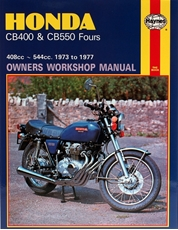 Picture of Honda CB400 & CB550 Fours 1973 - 1977 (Haynes Publishing)