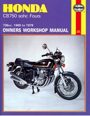 Picture of Honda CB750 SOHC Fours 1969 - 1979 (Haynes Publishing)