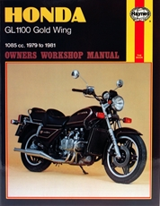 Picture of Honda GL1100 Gold Wing 1979 - 1981 (Haynes Publishing)