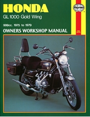 Picture of Honda GL1000 Gold Wing 1975 - 1979 (Haynes Publishing)