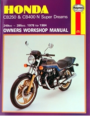 Picture of Honda CB250 & CB400N Super Dreams 1978 - 1984 (Haynes Publishing)