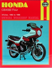 Picture of Honda CBX550 Four 1982 - 1986 (Haynes Publishing)