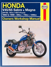 Picture of Honda V45/65 Sabre & Magna 1982 - 1988 (Haynes Publishing)